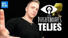 Twitch és Facebook oldalaimra is kikerült a Little Nightmares játék végigjátszás videó!