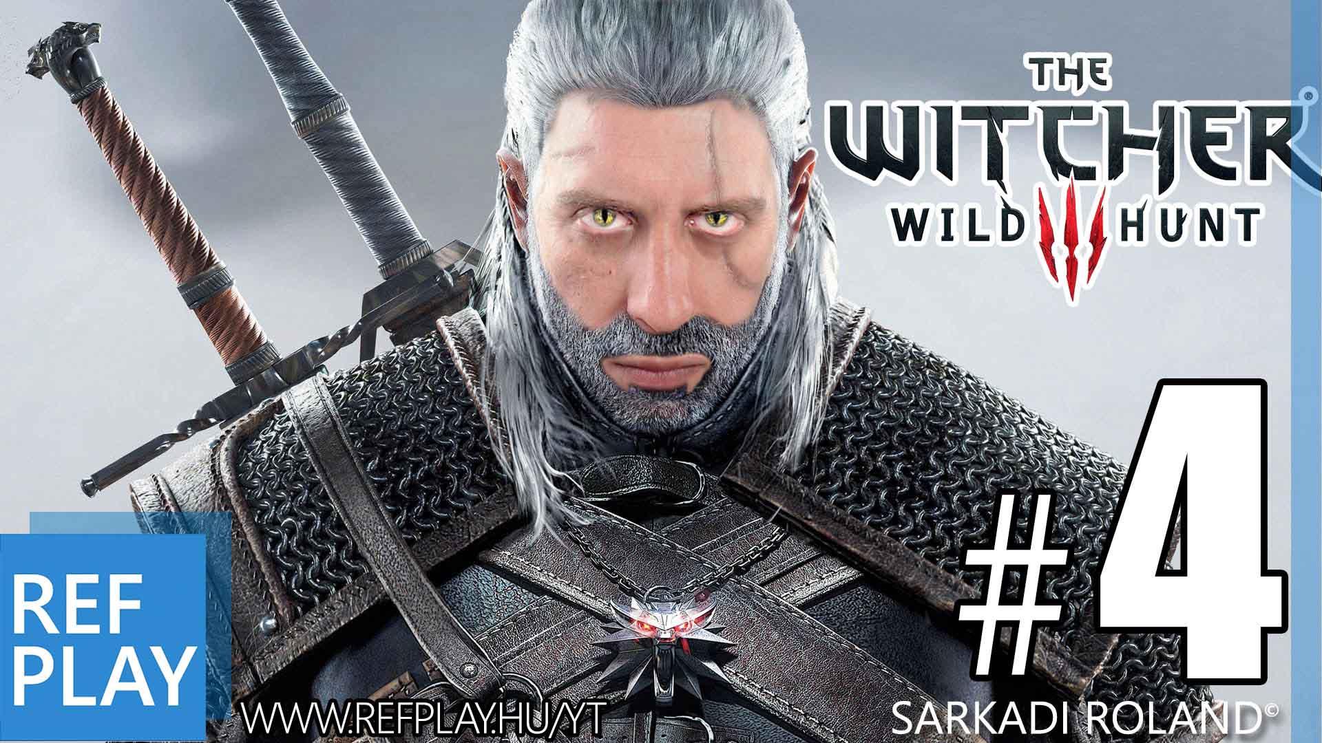 NYEREMÉNYJÁTÉK + The Witcher 3 Wild Hunt #4 | Magyar végigjátszás | REFPLAY